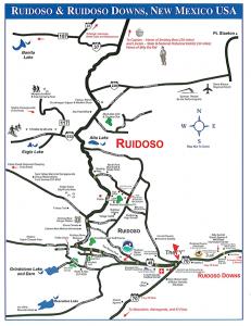 Map of Ruidoso Area