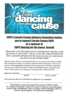 cope dancing for the cause