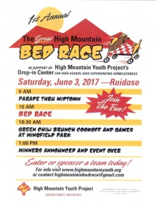 great high mountain bed race